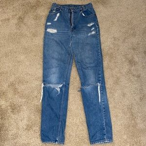 The perfect Levi jeans.